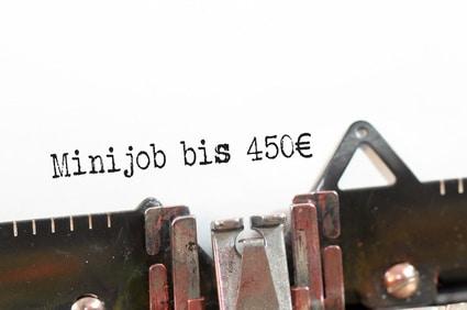 Geringfügige Beschäftigung