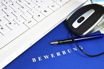 Schriftliche Onlinebewerbung