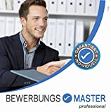 BEWERBUNGSMASTER Professional 2020 | Windows-Software CD inkl. Downloadlink | Kpl. Bewerbung: Lebenslauf, Anschreiben, Profil, Deckblatt | Mailbewerbung