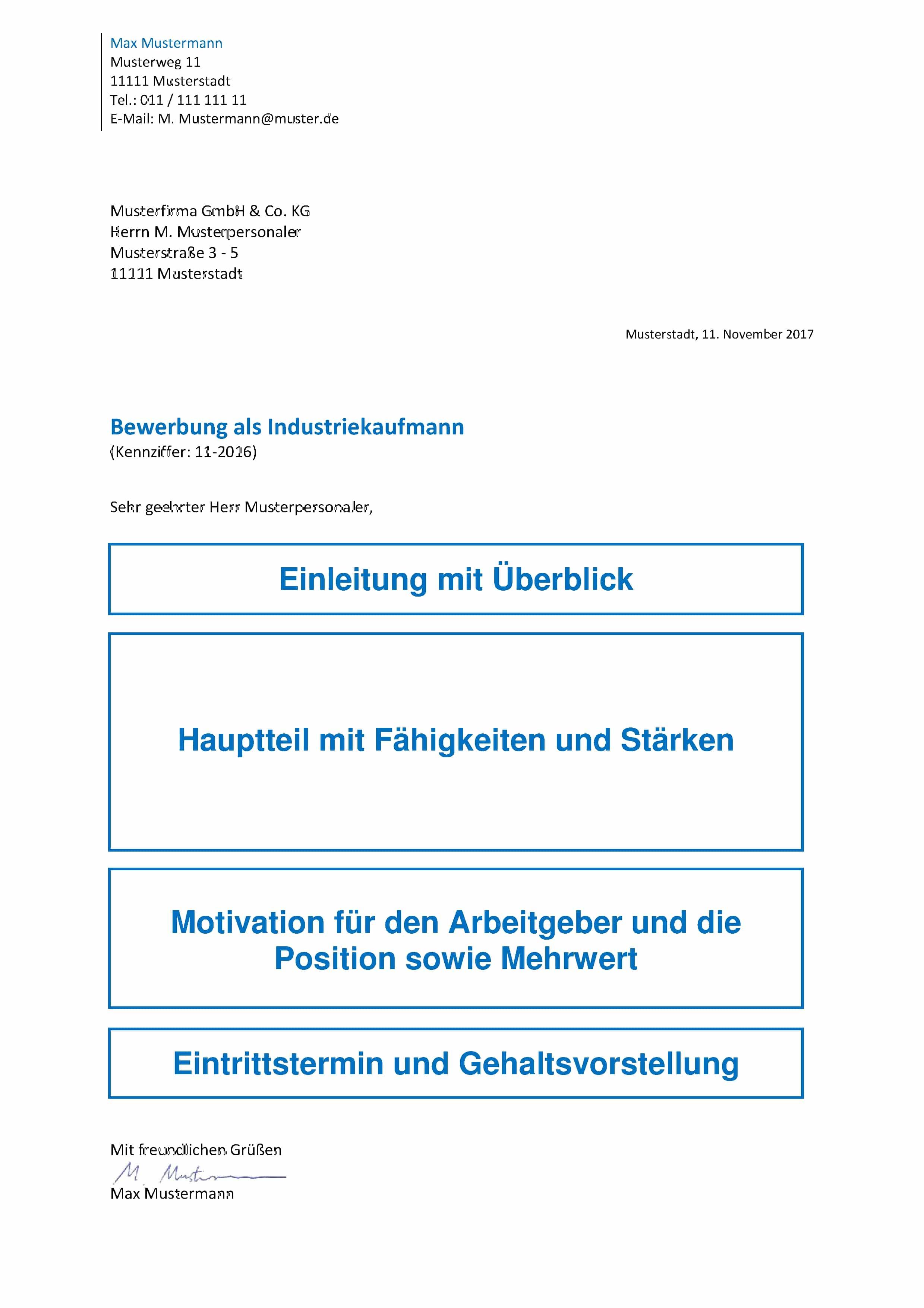 Das Bewerbungsanschreiben - Inhalt, Aufbau, Formulierungen - Tipps!